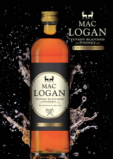 Mac Logan whiskey
